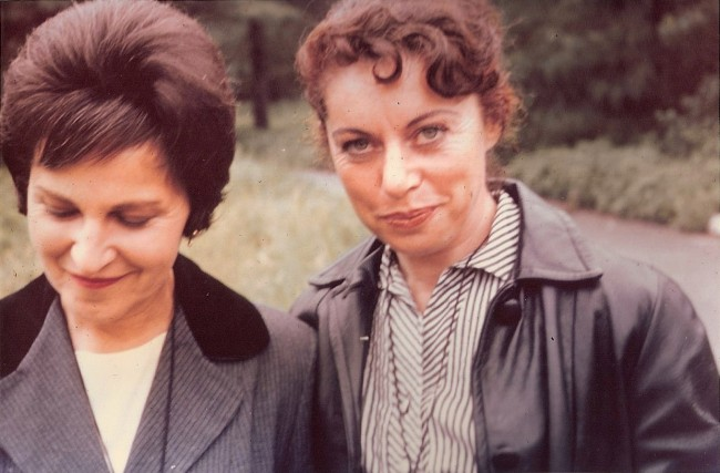 Eleanor Yarrow and Sylvia Stein, in 1962