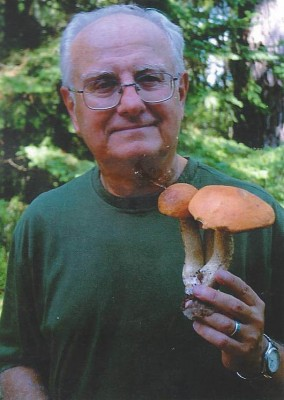 Ron with mushrooms